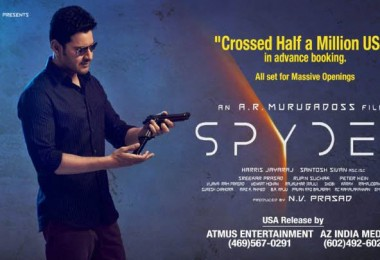 mahesh-spyder-half-million-usa-record